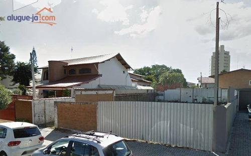 Terreno Para Alugar, 450 M² Por R$ 12.000,00/mês - Jardim Esplanada - São José Dos Campos/sp - Te0450