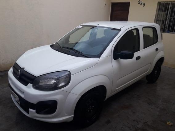 Fiat Uno 1.0 Completo Doc Ok Recuperado De Sinistro Leilao