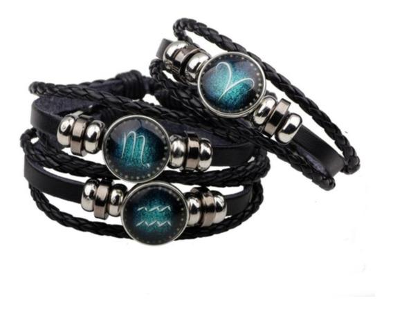 Pulseira Bracelete Signos Horóscopo Constelação Do Zodíaco