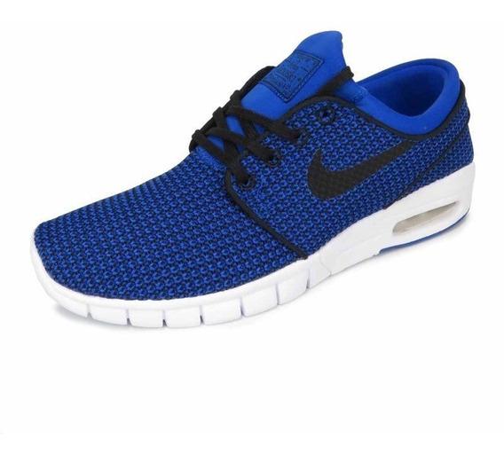 Tênis Nike Sb Stefan Janoski Max Azul 631303-403