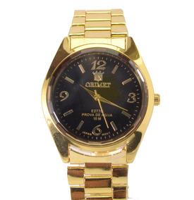 Relógio Feminino De Pulso Dourado Orimet Super Promoção.