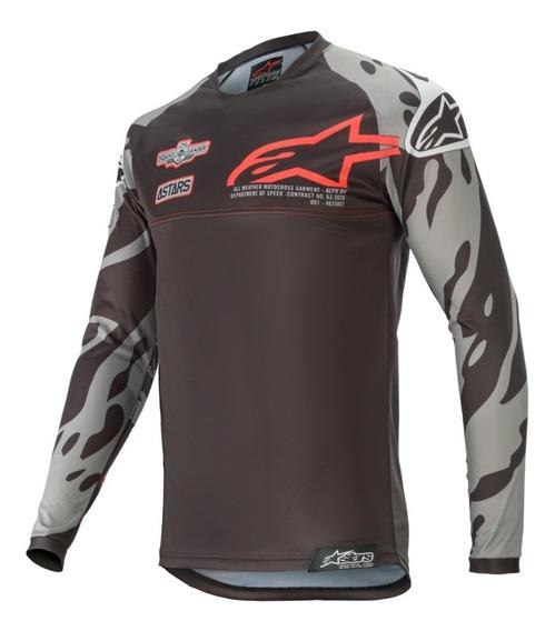 Camisa Alpinestars Racer Tech Gear San Diego 2020 Ed Especia