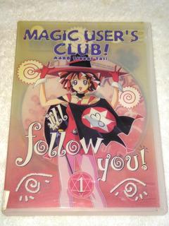Magic Users Club # 1 Anime Dvd Serie Tv De Japon Manga Otaku