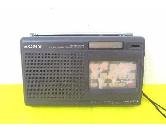 Radio De Colección Marca Sony Made In Japan A Tarjeta