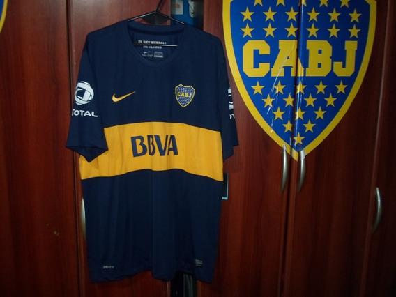 Camiseta Boca Juniors 2012 Tela Comercial Original