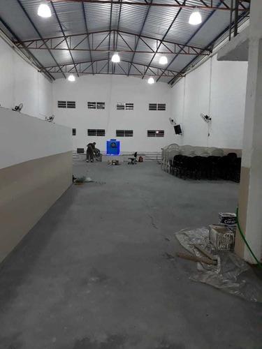 Barracão Galpão Prédio Salão Comercial Depósito Fabrica Novo