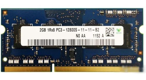 Memória De Notebook 2gb Ddr3 1600mhz - Lenovo (oferta) + Nfe