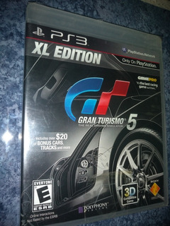 Playstation 3 Ps3 Video Game Gran Turismo 5 Xl Edition Nuevo