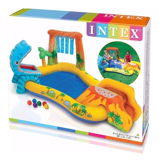Playcenter Picapiedras Inflable Intex #57444