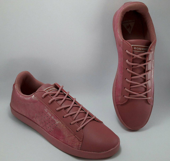 Zapatillas Lecoqsportif Agate Low Glam Cooper Rose