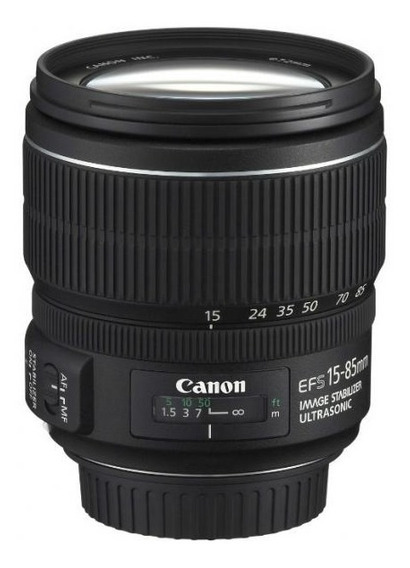 Canon Ef-s 15-85mm F / 3.5-5.6 Is Usm Ud Objetivo Zoom Están