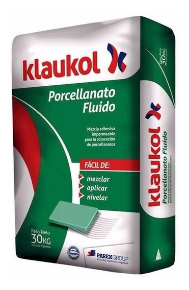 Pegamento Adhesivo Klaukol Porcelanato X 30 Kg - Cuotas