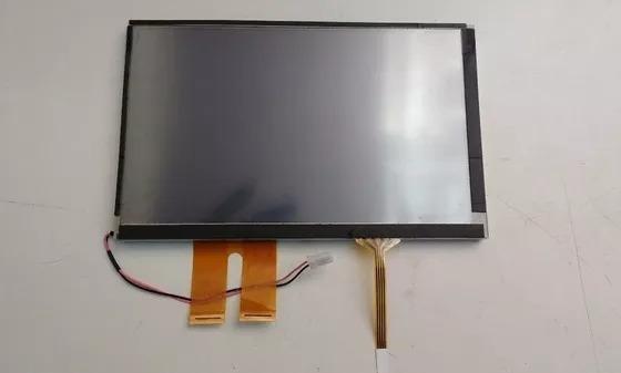 Tela Display 7 At070tn84 Multimídia Flat Duplo Com Touch