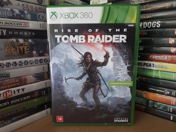 Jogo Rise Of The Tomb Raider - Xbox 360 - Original - Física
