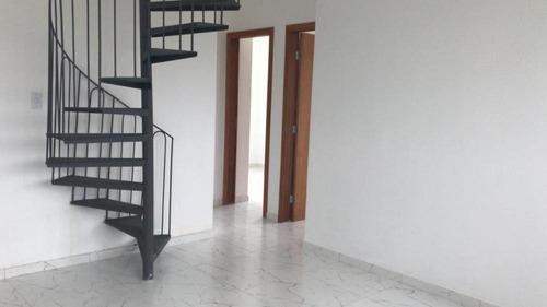 Imagem 1 de 10 de Cobertura Duplex À Venda, 2 Quartos, 2 Vagas, Novo Centro - Santa Luzia/mg - 1880