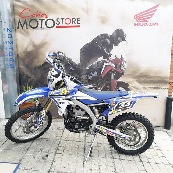 Yamaha Wr 250f Azul 2015