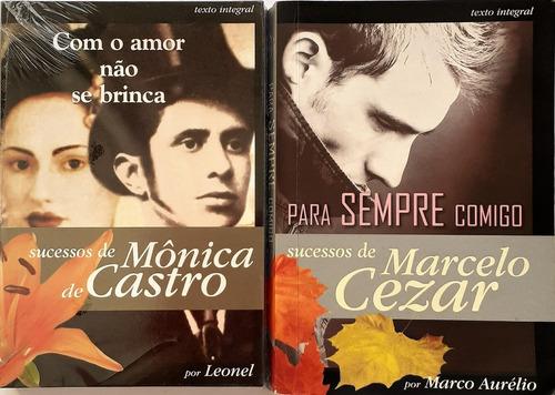 Com O Amor Nao Se Brinca + Para Sempre Comigo -livros Pocket