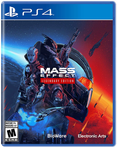 ..:: Mass Effect Legendary Edition ::.. Ps4 Playstation 4