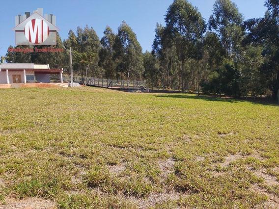 Lindo Terreno Em Condomínio Fechado, Plano Com Vista Maravilhosa À Venda, 1000 M² Por R$ 180.000 - Zona Rural - Pinhalzinho/sp - Te0237
