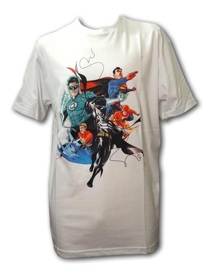 Remera, Dc, Justice League New 52. Original Licencia Oficial