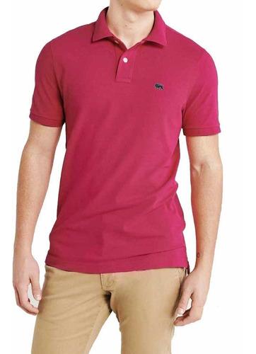 Imagem 1 de 3 de Envio Imediato Em 24 Hs.  Camisa Polo Masculino Rosa H