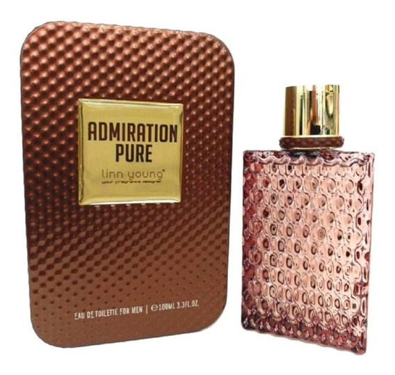 Admiration Pure Edt 100ml Masculino Linn Young