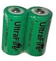 Bateria Recarregável Cr123a Ultrafire 800mah 3v - Promoção