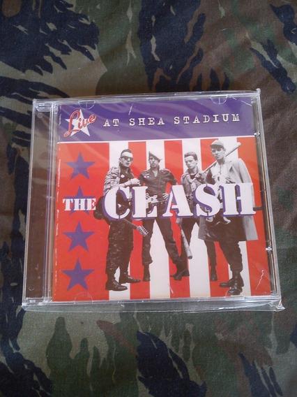 The Clash - Live At Shea Stadium Cd (novo)