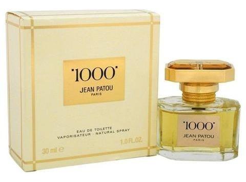Perfume Jean Patou 1000 Eau De Toilette 30ml - Original