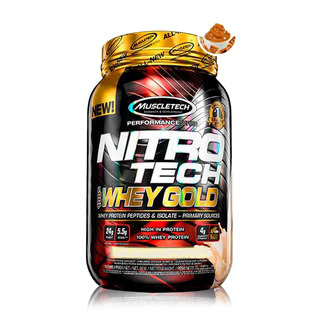Nitrotech Whey Gold 2.5lbs (1,13kg) - Muscletech - S/ Juros