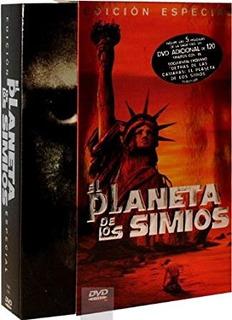 Planeta De Los Simios -colección Clásica Pack Metalizado Dvd