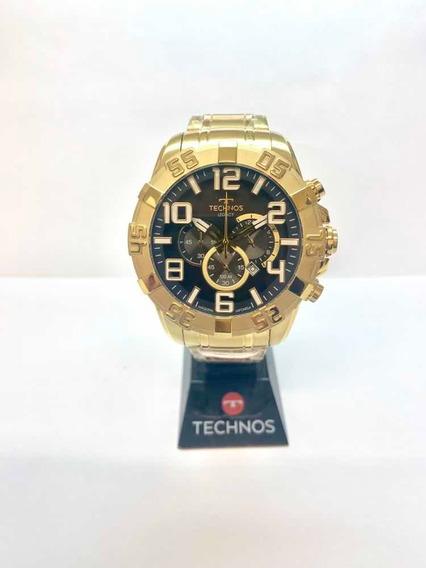 Relógio Technos Masculino Dourado Os20lm/4p