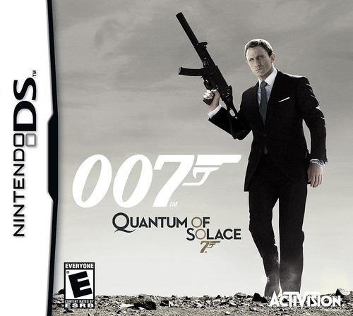 Imagen 1 de 9 de Juego Nintendo Ds 3ds 007 Quantum Solac - Refurbished Fisico