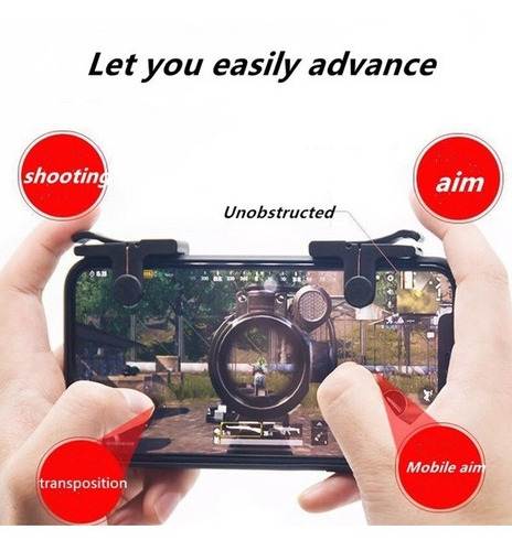 Imagem 1 de 10 de Gamepad Suporte Joystick Para Celular Com Controle Analógico
