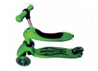 Scooter 4 Ruedas Con Luz Verde