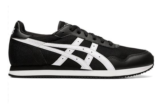 Zapatillas Asics Tiger Runner Negro/blanco - Moda Hombre