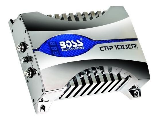 Capacitor Boss Para Auto 10 Farad Silver
