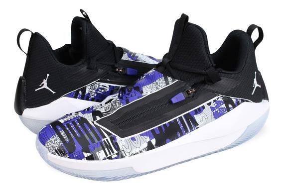 Tenis Nike Jordan Jumpman Hustle Concord Originales En Caja