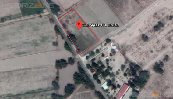 Terreno Campestre Para Hacienda, Casa De Campo O Uso Comercial En Justino | Mexquitic Slp