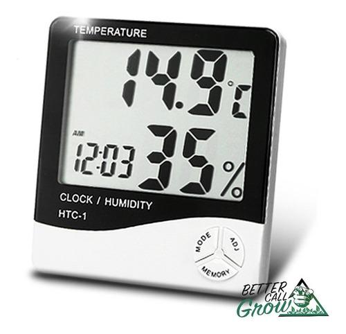 Termo Higrómetro Digital Htc-1 Cultivo Indoor Meteorológica