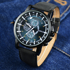 Relógios Masculinos Yazole Preto Fashion