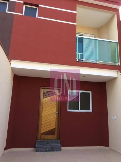 Sobrado Com 2 Dormitórios À Venda, 72 M² Por R$ 360.000,00 - Parque Das Nações - Santo André/sp - So0517