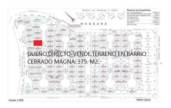 Dueño Vende, El Único Lote Interno Que Queda En El Barrio!!.