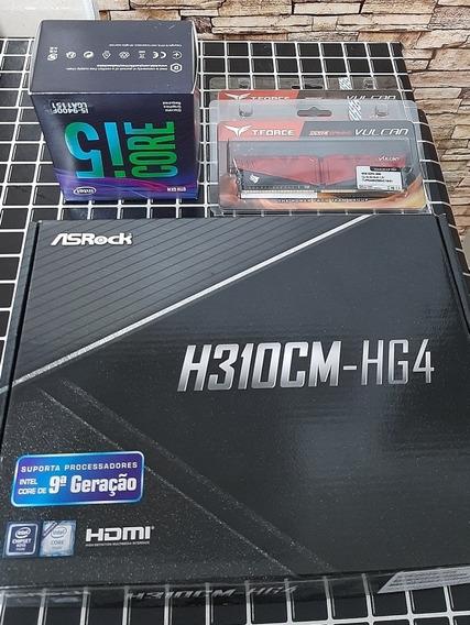 Kit Upgrade, Intel I5-9400f, Asrock H310cm-hg4, 16gb 2666mhz