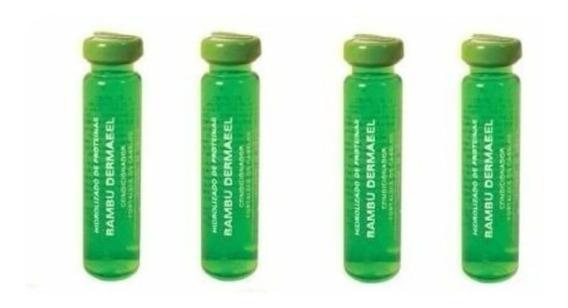 Dermabel Broto De Bambu Vitamina Capilar 4x2,8ml