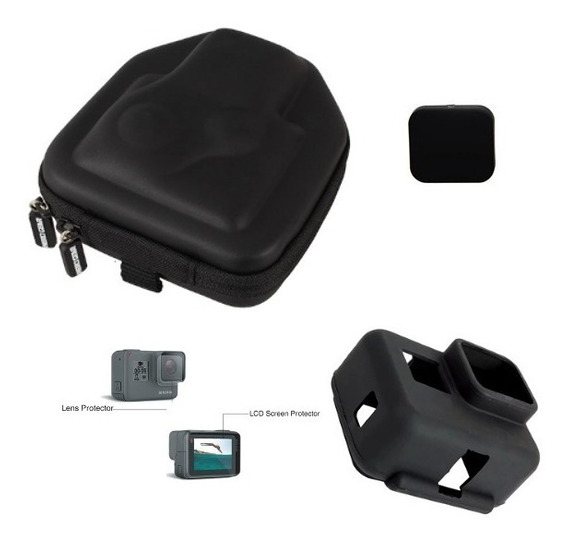 Película Para Gopro Hero 7 Black 5 6 Cover Case Transporte