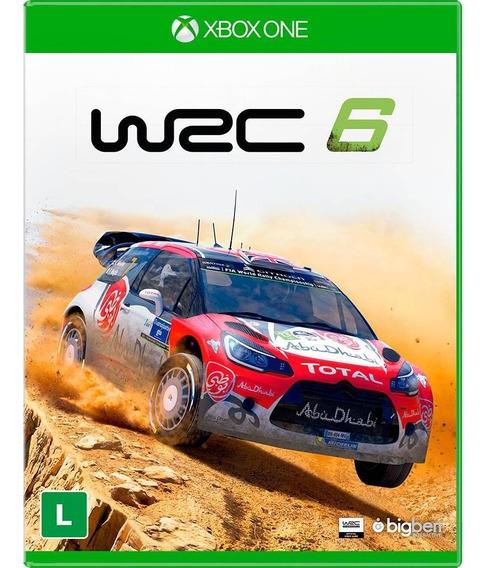 Jogo Original Mídia Física Wrc 6 Para Xbox One Bigben