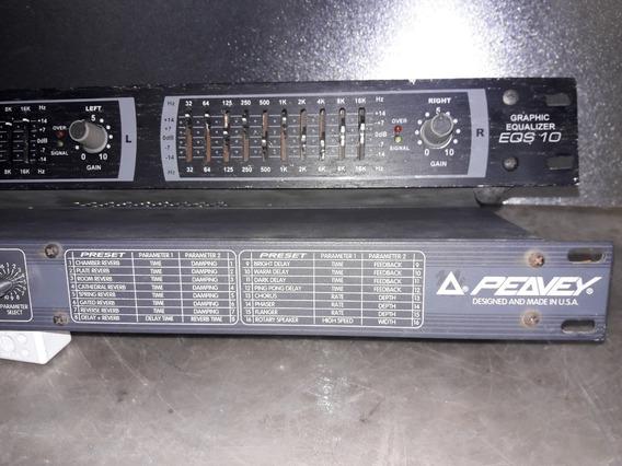 Equalizador Voxman E Deltafex Processador, Com Defeito