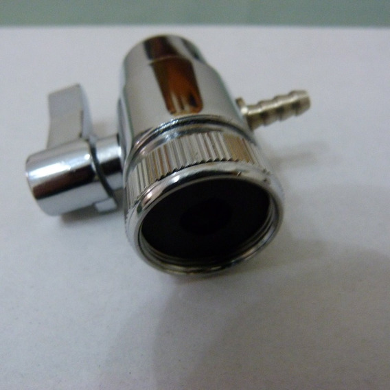 Derivadora Canilla By Pass Filtro Purificador Sobremesada