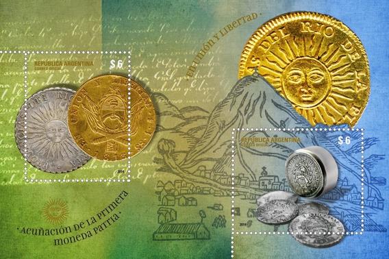 Acuñacion De La Primera Moneda Patria